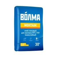 Клей гипсовый монтажный Волма Монтаж ПГП 30 кг
