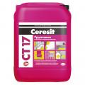 Грунтовка СТ 17 для внутренних/наружных работ 10л Ceresit