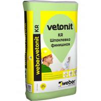 Шпатлевка Вебер ветонит КР (Vetonit KR) 20кг